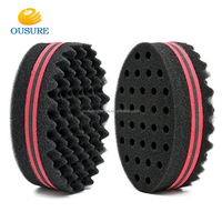 Good Quality Dreads Locking Twist Sponge/Hair Curl Sponge Brush