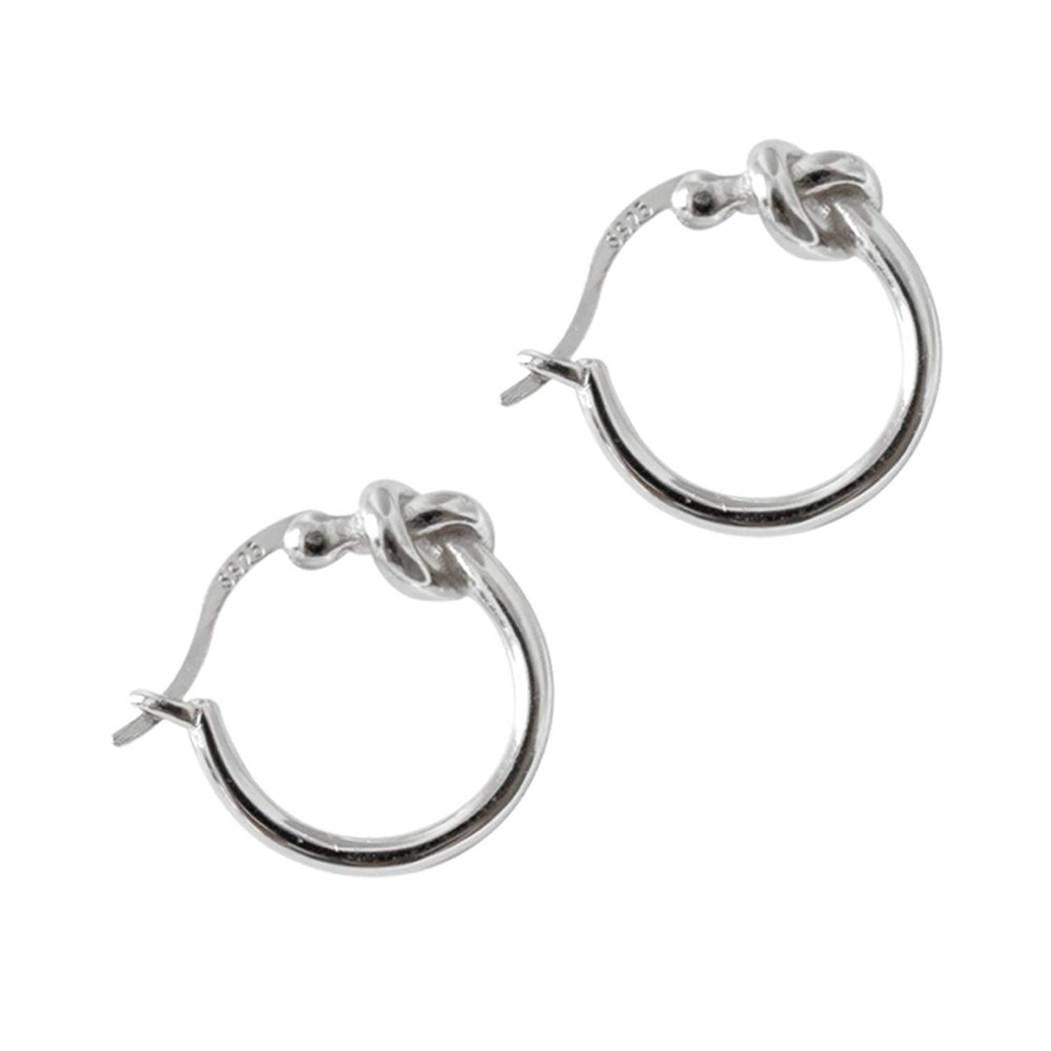 Micro Pav? Setting Oval Ear Studs With Cubic Zirconia Sterling Silver 925 Polished And Nickel Free Liara