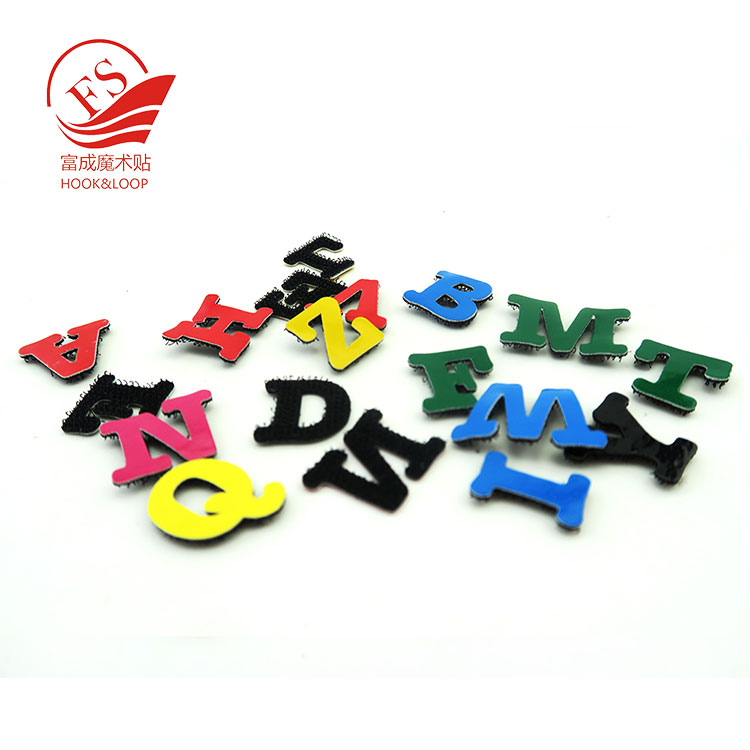 Factory make safty hook and loop letters <strong>toy</strong> for kid english learning