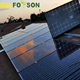 Sunrack pv solar mounting bracket system support for pitched solar power system solar panel kit