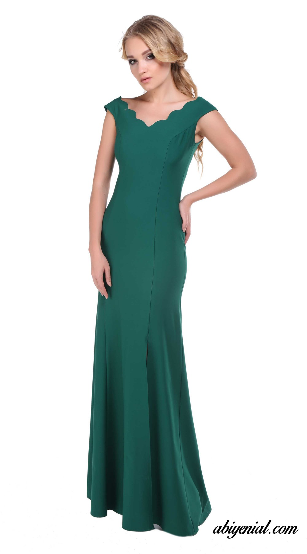 BAM1018 Stunning Design 2016 Party Prom Gown with Seductive Side ...