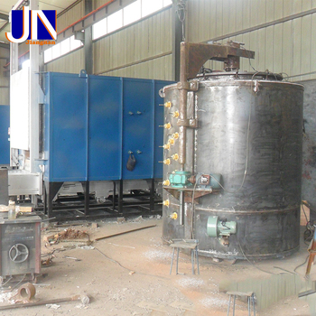 Rq3 Industrial Furnace Pit Type Gas Carburizing Furnace