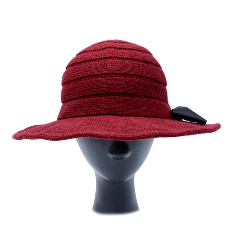 b8038ed6 Get Quotations · Sun Hats Ladies ' Lounge Hats/Ladies Big canopies/Knit Hats /Hats