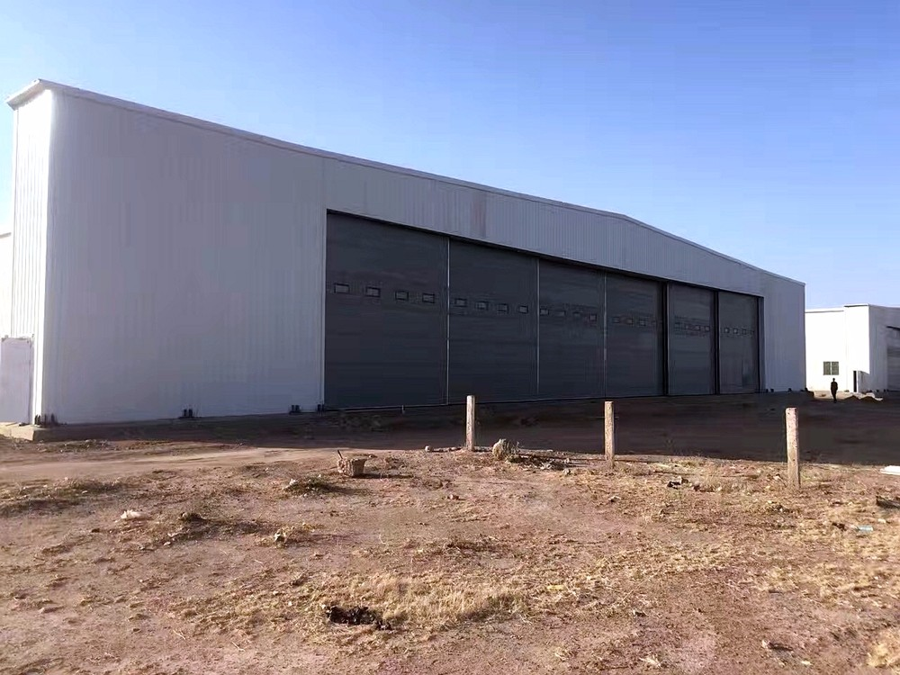 Prefabricated Aircraft Hanger Building Construction Projects for Niger