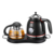 1.7L stainless steel electric tea kettle set with glass teapot keep warm function