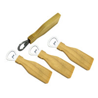 wholesale wooden opener for opening beer on bar accessories