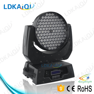 Factory DMX led moving head RGBW wall wash 108x3W moving head and price