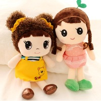 Lovely fairy dolls stuffed plush girls fairy toys and dolls