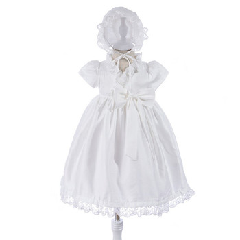 2018 De Moda Clásica De 0 2 Años De Bautismo Ropa Traje De Bebé Vestido De Fiesta Vestido De Vestido Con Sombrero Buy Vestido De Bautismo Para
