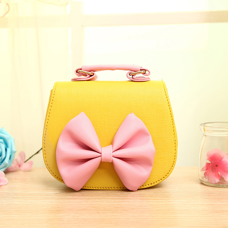 ZH0762J 2017 New arrival Baby Girl's Bag Crossbody Princess Fashion Colorful Bow bag
