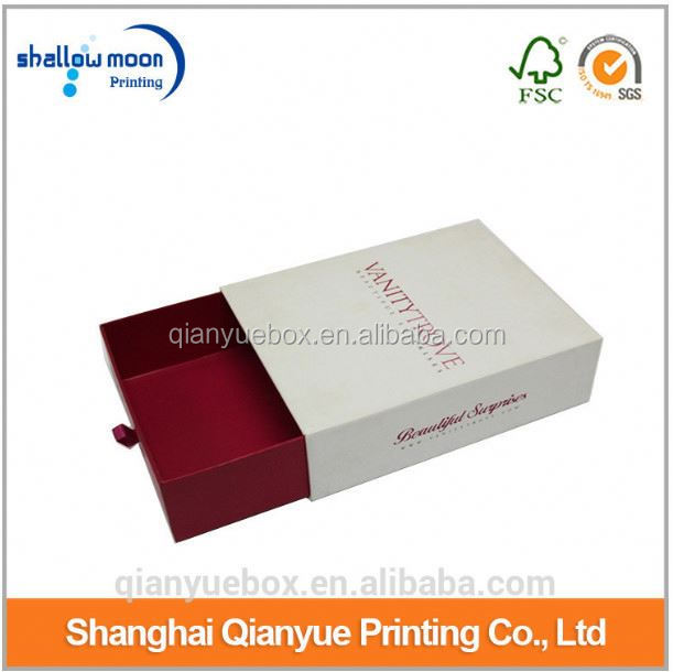OEM drawer type jewelry box packaging