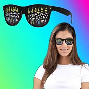 Happy Birthday Billboard Sunglasses