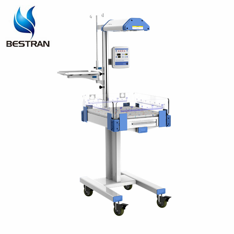 BT-NR01S Cheap hospital medical newborn Neonate Radiant baby resuscitation heater table infant warmer phototherapy unit price