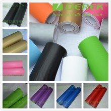 High quality Air bubble free self-adhesive Car Stickers differ color 3D Carbon Fiber car Vinyl Wrap