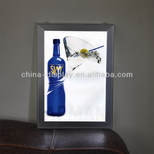 18in X 24in Illuminated Led Poster Picture Frame For Advertising