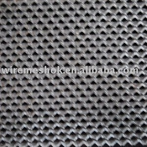 iron steel copper AL expanded wire mesh
