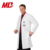 Classic White Men Long Custom Lab Coat