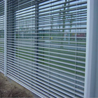 Motor Remote Control Outdoor Aluminum Venetian Blinds for House