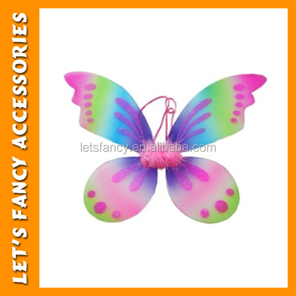 PGAC1566 Wholesale cheap fairy butterfly wings Halloween costume nylon butterfly wings