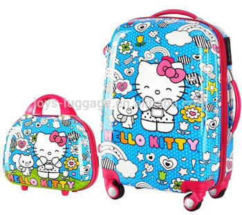 JK-161102Useful Ensemble de Bagages pour Les Adolescents-Hello Kitty
