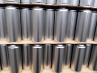 OEM tin can spray can aerosol can with printing or plain coating used in chemical field