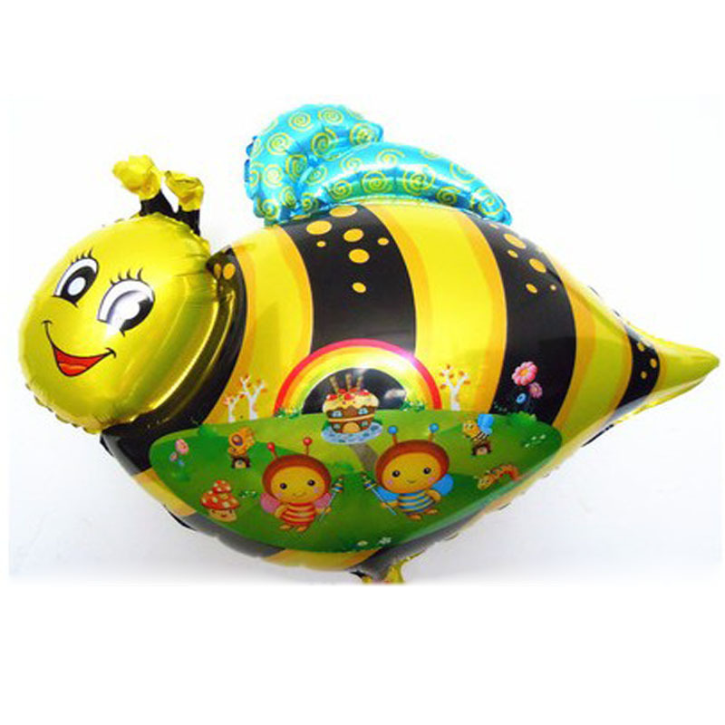 Get Quotations 60x45cm Kids Classic Toys Air Balloons Bee Balony Party Birthday Decoration Inflatable Foil Helium