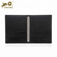 Leather A4 File Folder 4 Hole Loose Leaf Documents Folder Office Supplies File Management Filling Products