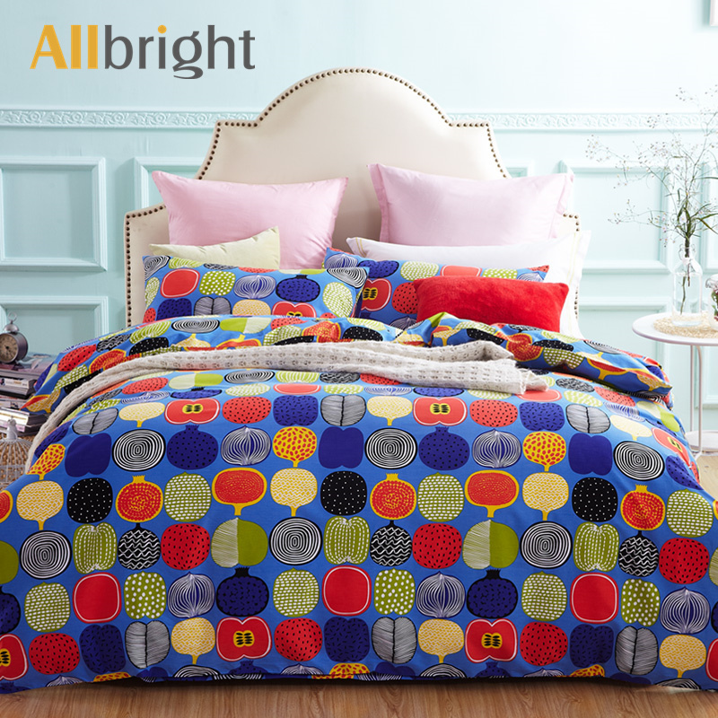 ALLBRIGHT winter must ethnic bedspreads percale sheets and duvet cover for double bed