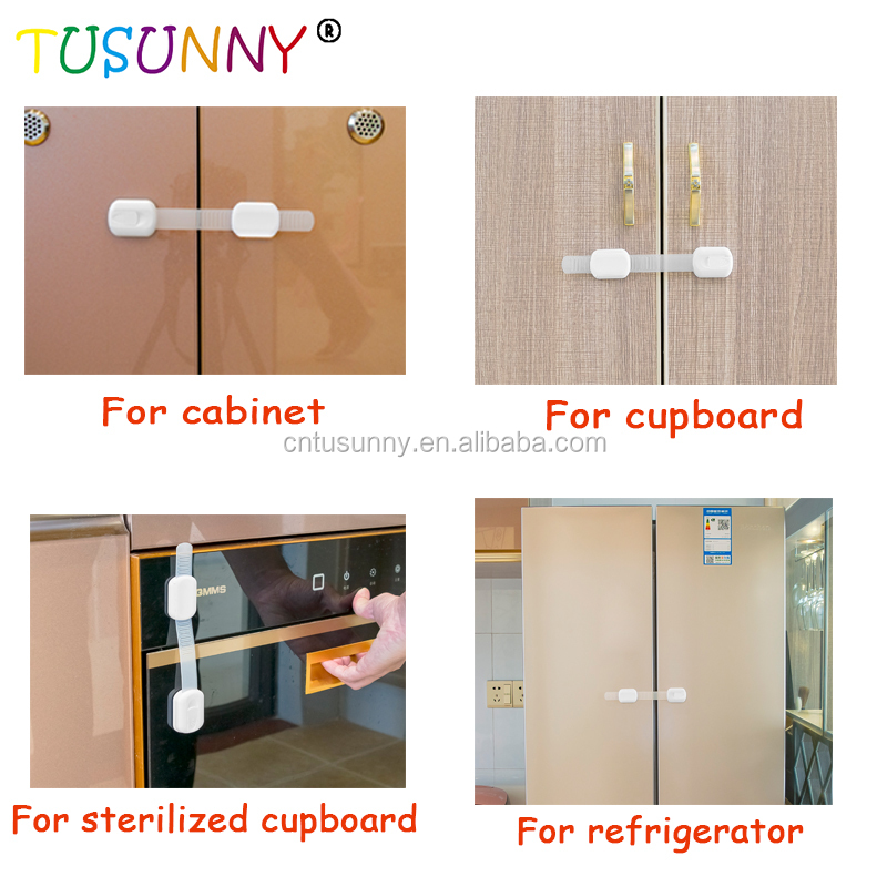 Child Baby Lock Safety Latch for Sliding Door Lock