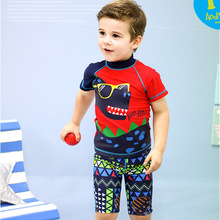 (1set/lot)2015 New Arrival Hot Selling Lovely Character 3-9Y Boys Swimwear Good Quality Nylon Swimming Trunks Swimsuit Kids