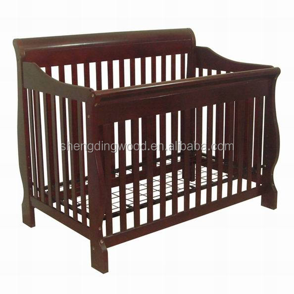 Convertible wooden baby crib with ASTM certificate Quality Choice