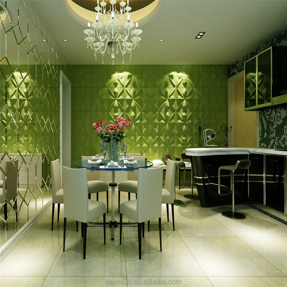 Paneles de yeso de la pared 3d panel de pared for Decoracion hogar 3d