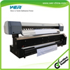 Inkjet directly sublimation printing plotter for banner cloth printing