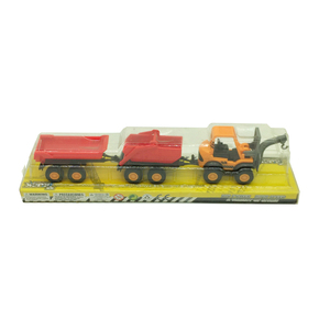 Chain on the car double bucket truck toys