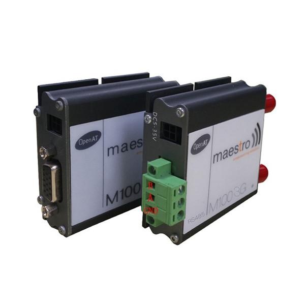 RS232 RS485 interface optional wireless wavecom maestro M100 GSM 3G modem