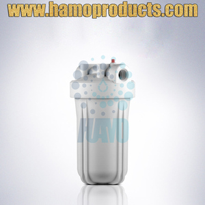 Liquid 5 Inch Industrial Clear Plastic Filter Housing
