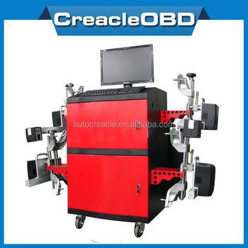 laser wheel alignment machine