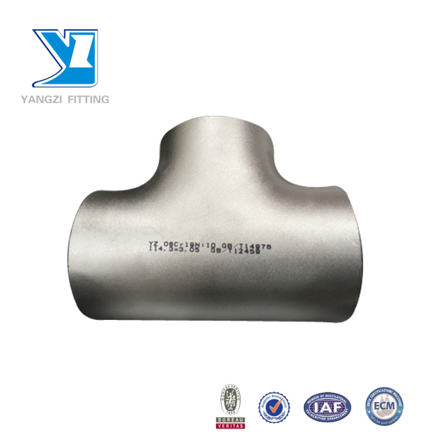 48 Inch Steel Pipe Fittings Standard Reducing Tee Sizes