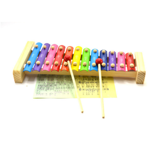 wooden music toys 12 aluminium xylophone children's educational toys instrument toy