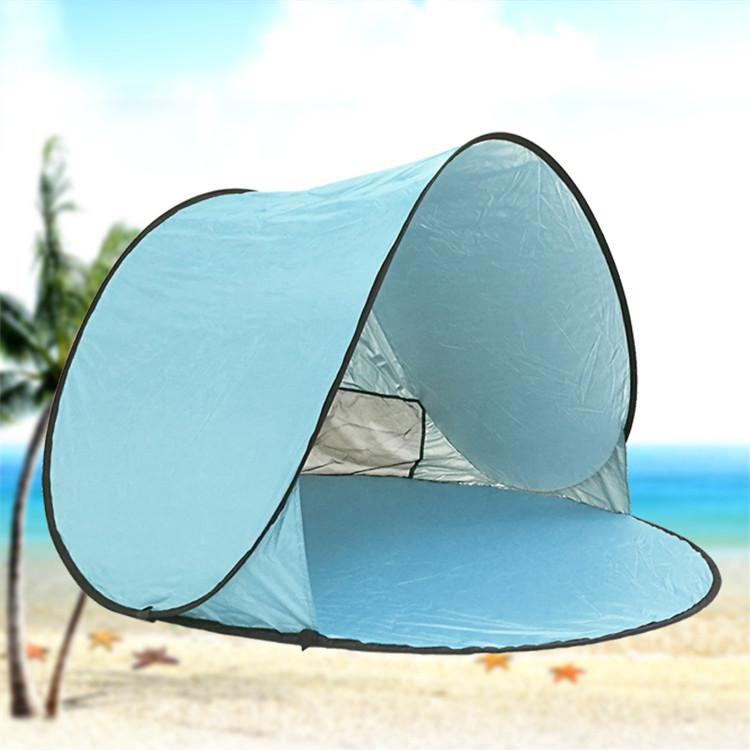 Pop Up Tent, Automatische Strand Tent Zon Onderdak Instant Zonnescherm Draagbare Anti UV Tent