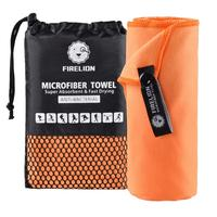 Super absorbent microfiber sports towel microfiber gym towel with bag