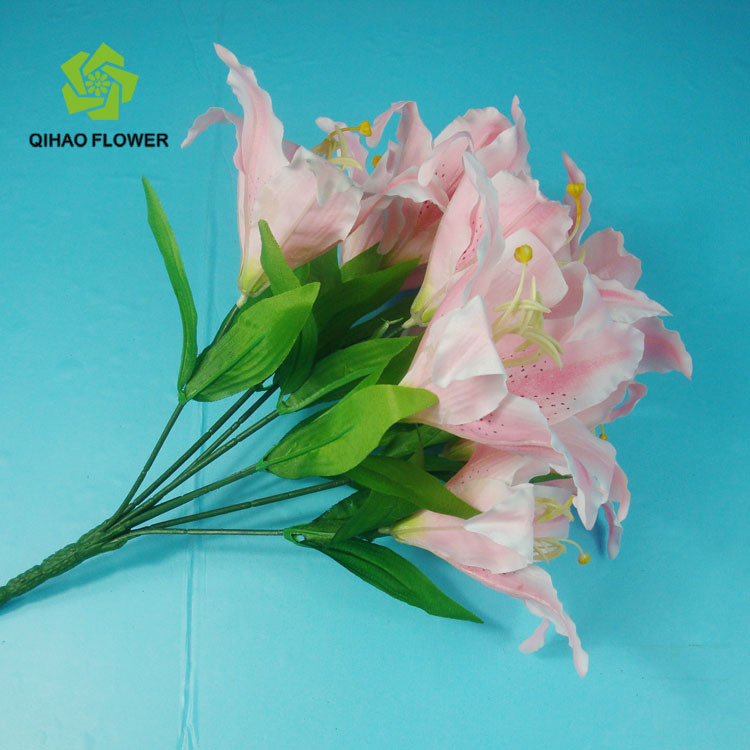 Artificial Tiger Lily Artificial Flower Molds Lily For Sale