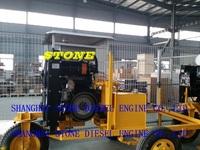 cummins 6BT diesel engine three wheel trailer type for agriculture irrigation water pump
