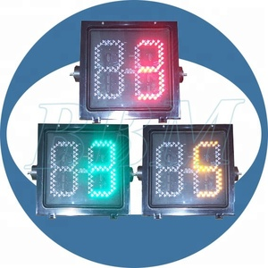 400mm digital led traffic light countdown