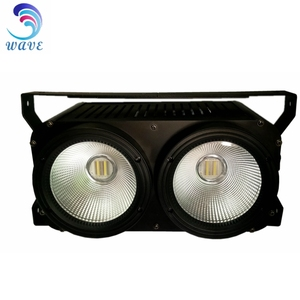 Stage Lighting DMX 2 *100w Eyes Warm/Pure White COB LED Studio Blinder Light