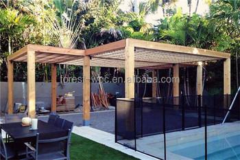 waterproof wpc decking pergola gazebo gazebo outdoor furniture garden furniture - Garden Furniture On Decking