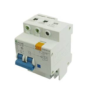 Water & Wood Electric Switch Type 6000A 10A 230VAC Two Poles Earth Leakage Circuit Breakers