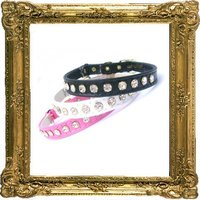 Glamour Puss Rhinestone Safety Cat Collar