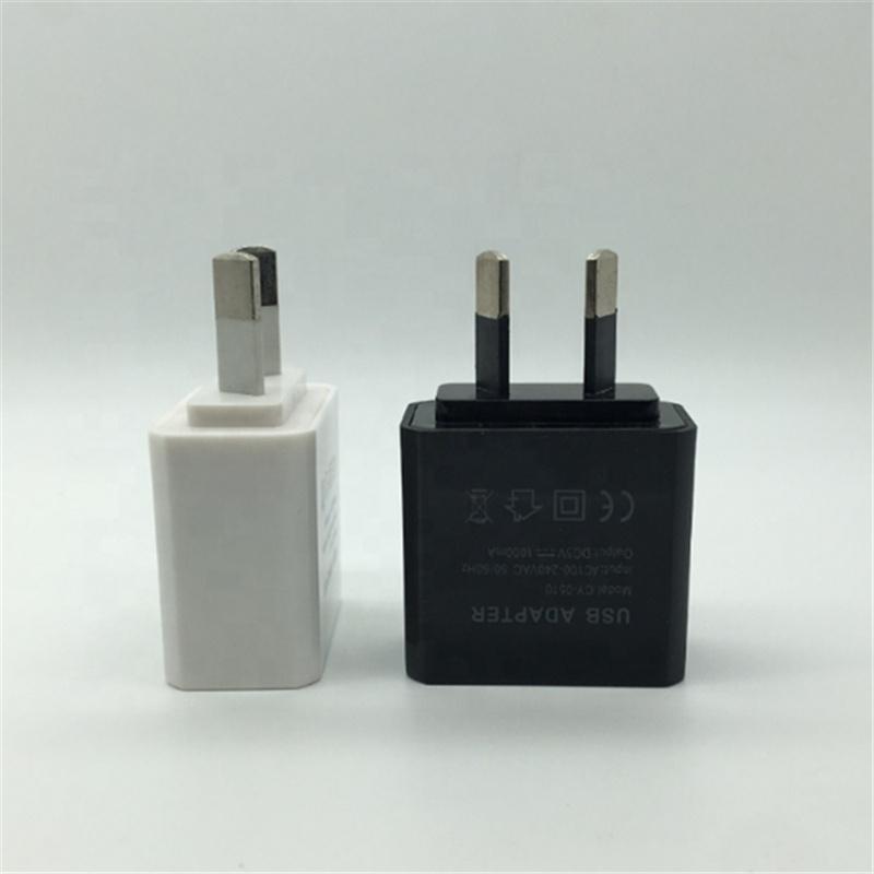 AU Plug Travel adapter USB charger 5V 1A USB ADAPTER
