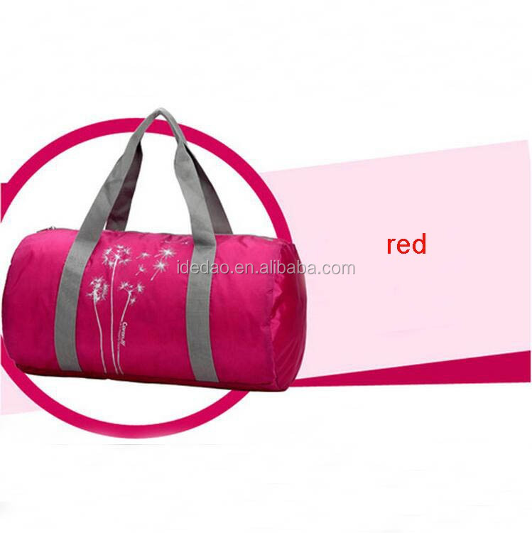 Promotional Sports Travel OEM Customized Gym BagGym Sport Bag with Handles women sport travel duffle bag for gym bag